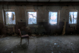Derelict Interior with Chair
