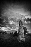 Standing Stones in Countryside Papier Photo par Rory Garforth