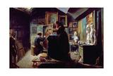 In the Artist's Studio  1820-30