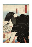 The Poet Sosei Hoshi: the Actor Matsumoto Koshiro V as Ishikawa Goemon  1852