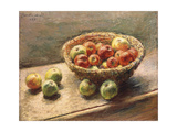A Bowl of Apples; Le Panier De Pommes  1880
