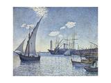 Port De Cette  Les Tartanes  1892