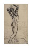 Male Nude  Study for the Truth; Mannlicher Akt  Studie Zur Wahrheit  C1902
