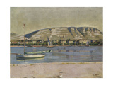 Geneva Harbour and the Saleve  1878