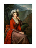 Portrait of Countess Maria Theresia Bucquoi  1793
