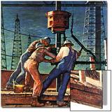 """""""Drilling for Oil """" November 9  1946"""