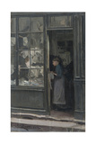 The Laundry Shop  1885