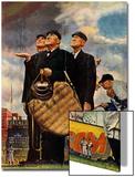 """Bottom of the Sixth""  (Three Umpires)  April 23 1949"