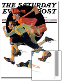 """""""To the Rescue"""" Saturday Evening Post Cover  March 28 1931"""