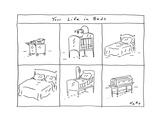 Your Life in Beds - Cartoon