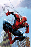 Ultimate Spider-Man No156 Cover: Spider-Man Jumping