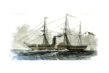 Washington Steamship Vessel Boat 1847