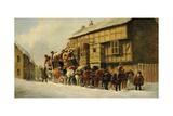 Outside the George Inn  1879
