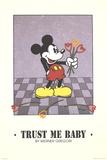 Trust Me Baby Reproduction d'art par Werner Gregori