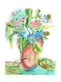 Flower Burst Vase II