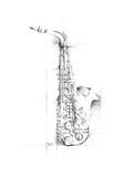 Saxophone Sketch