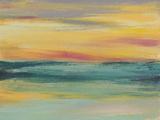 Sunset Study III Reproduction d'art par Jennifer Goldberger