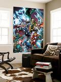 Avengers Assemble Panel Featuring Captain America  Iron Man  Thor  Loki  Falcon