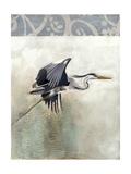 Waterbirds in Mist III Reproduction d'art par Naomi McCavitt