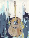 Bluebird Cafe I Reproduction d'art par Deann Hebert