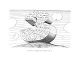 A three-dimentional gure of speech - New Yorker Cartoon