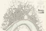 Bordeaux Vintage Map