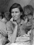 Destitute Pea Pickers in California  Mother of Seven Children  Nipomo  California  1936