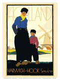 Holland - Harwich-Hook Service Netherlands - London & North Eastern Railway (LNER)