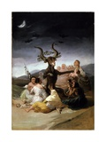 The Witches' Sabbath  1797-98