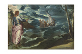 Christ at the Sea of Galilee  c1575-80