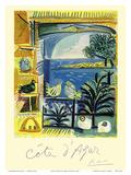 Cote d'Azur - Picasso's Studio Pigeons Velazquez