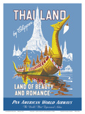 Thailand by Clipper - Land of Beauty and Romance - Royal Barge - Wat Arun