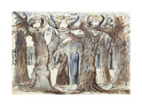 Illustrations to Dante's Divine Comedy  the Wood of the Self-Murderers