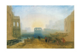 Claudian Harbour Scene: Study for 'Dido Directing the Equipment of the Fleet'