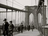 New York  NY Brooklyn Bridge