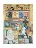 The New Yorker Cover - January 4  1964