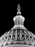 Dome of the Us Capitol Building with Columbia Statue