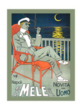 Lounging in Mele Fashion and under a Crescent Moon