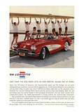 1959 GM Corvette Sports Car