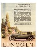 1924 Lincoln - Leadership