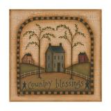 Country Blessings Giclée premium par Kim Lewis