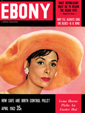 Ebony April 1966 cover  Lena Horne