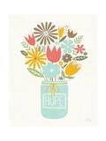 Jar of Sunshine III Coral Hope