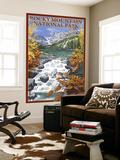 Rocky Mountain National Park  Colorado  Lake Scene
