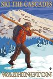 Ski the Cascades  Cascade Mountains  Washington