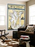Narragansett Bay  Rhode Island Nautical Chart