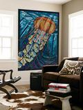 Jellyfish - Paper Mosaic