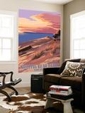 Sleeping Bear Dunes  Michigan - Dunes Sunset and Bear