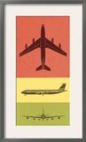 Color Three Views of Airplane