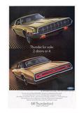 1968 Thunderbird 2 Doors or 4